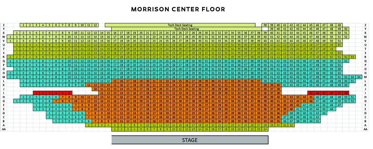 Morrison Center Floor